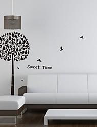 Oiseaux arbre botanique temps doux