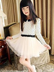 Malla Empalme princesa vestido de la muchacha