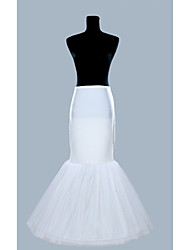 Oganza And Polyster Mermaid Gown One Tier Floor-length Petticoats