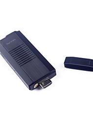 TP001 Bluetooth Android 4.2.2 Mini PC Google TV Player (2GB RAM 8GB di ROM HDMI)