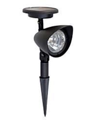 1pcs Solarrasenlicht Solar-Spot-Licht 3 helle LED-Lampen für den Garten (CSS-57140)