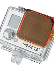 GoPro HD Hero 3+ PC Under Sea Filter Cover - Orange