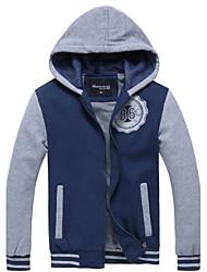 nuova giacca manica lunga casuale degli uomini