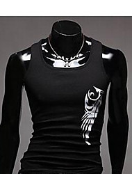 ZHELIN Men's Fashion Special Pattern Random Color Of The Accessories Vest