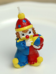 Clown Candle for Birthday