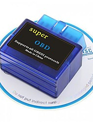 V1.5 Super Mini ELM327 Bluetooth OBD2 OBD-II CAN-BUS Scanner Strumento diagnostico