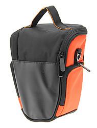 T3-OU Mini Bag One-Sholder para Câmera (laranja + preto)
