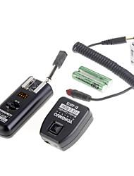 YONGNUO RF-602 / C 2.4GHz Wireless Flash Trigger 2 Empfänger-Kit für Canon-Kamera
