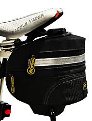 CoolChange 600D Nylon Wasserdicht Schwarz Extensible Saddle Bag