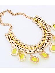 Btime Women's Fashion Statement Stacked Necklace