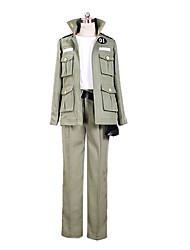 Reborn! Exército Verde Uniform Cosplay Pano