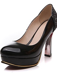 Women's Chunky Heel Pumps/Heels with Sparking Gliter Shoes(More Colors)