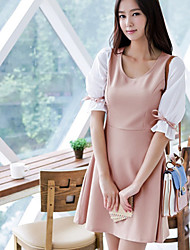 Women's Dresses , Others/Spandex Casual MYZX