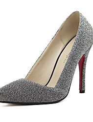 Sparkling Glitter Women's Shoes Wedding Stiletto Heel  Pumps With Pearl   Women's Party Shoes