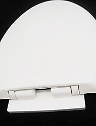 Elongated Durable Long Board Modern White Toilet Seat
