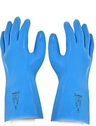 Дельта Резина жаропрочных Изоляционные кислотам щелочно сопротивление водонепроницаемые перчатки