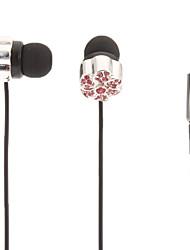 Wintersweet-Shaped Stereo In-Ear Headphone