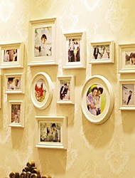 White Photo Wall Frame Collection Set of 13