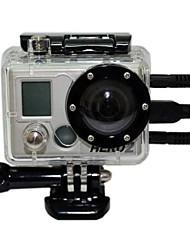 Impermeabile PC Camera Custodia per GoPro / SupTig Hero 2 con Open Side