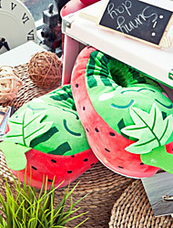 Kreative Red Watermelon Wolle Frauen Slide Slipper
