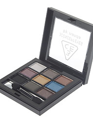 9 Couleur Pearly-lustre Eye Shadow (de NO.6 couleur)