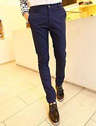 Uomo All-partita Inclinato Pocket Pantaloni skinny