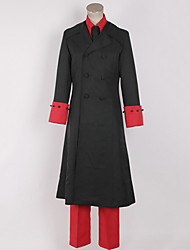 Hetalia Danemark Black & Cosplay Costume Polyester Rouge