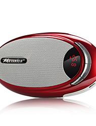 Miroad A8 haut-parleur portatif de soutien MP3/TF/FM