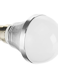 B22 7 W COB 347 LM Warm White LED Globe Bulbs AC 85-265 V