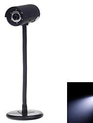 3.0 MP Telescope Shape USB Digital Computer Web Camera w / 6-LED luci di visione notturna
