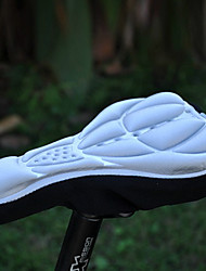 Bike Seat Saddle Cover Mountain Bike / Road Bike Silica Gel Silvery