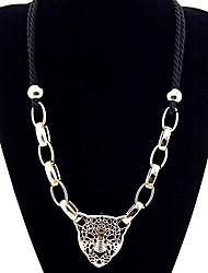 Z&x® готический сустава (леопард) ожерелье черный цепь ткань (1 шт)