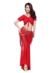 Dancewear Women's Pretty Embroidery Tassels Belly Dance Belt(More Colors)