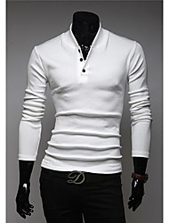 Men's Stand Collar POLO T-Shirt