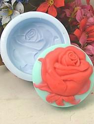One Whole Rose Silicone Fondant Cake Mold