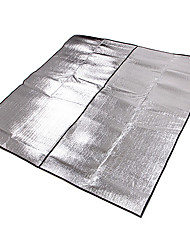Double cinéma en plein air tapis de pique-nique en aluminium Side