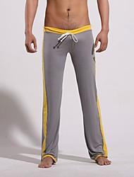 Men's Low Waist Highlight Yoga Gray Pants