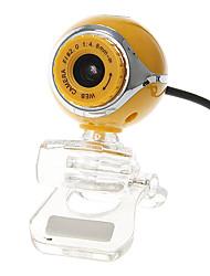 Ovo em forma portátil Webcam 8 Megapixel com microfone