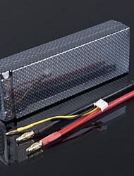 7.4V 5800mAh 35C RC Bateria Lipo Hard Case 2S akku