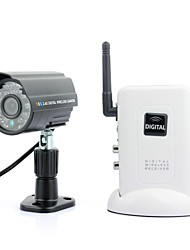 Wireless Surveillance Infrared Camera with Receiver System