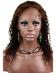 "Affordable Full Lace 14"" Amiee Curl 100% Indian Remy Human Hair Lace Wig-5 Colors to Choose"