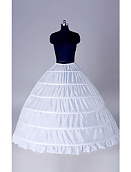Polyster Ball Gown Six Tier Floor-length Petticoats