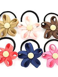 Süße Art-Blumen-Haargummis