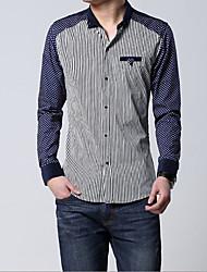 Men's Casual Shirts , Cotton Casual JPNZ