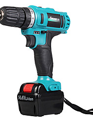 220V Multifunctional Household Electric Drill(2 Battery And 1 Charger)