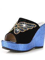 женские пятки клина слайд тапочки обувь (больше цветов)