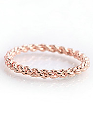 New Style Rope Shape Stylish Ring