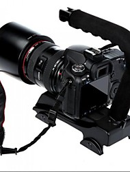 Wheel-style Video Handle Stabilizer Grip for Camera Mini DV