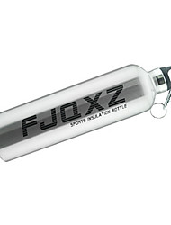 FJQXZ 750ML Aluminum Alloy Silvery Cycling Bottle