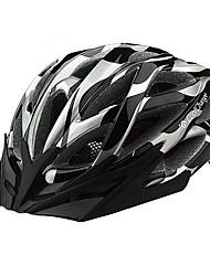 CoolChange 23 Vents Negro + Silvery EPS Light Casco de Ciclista